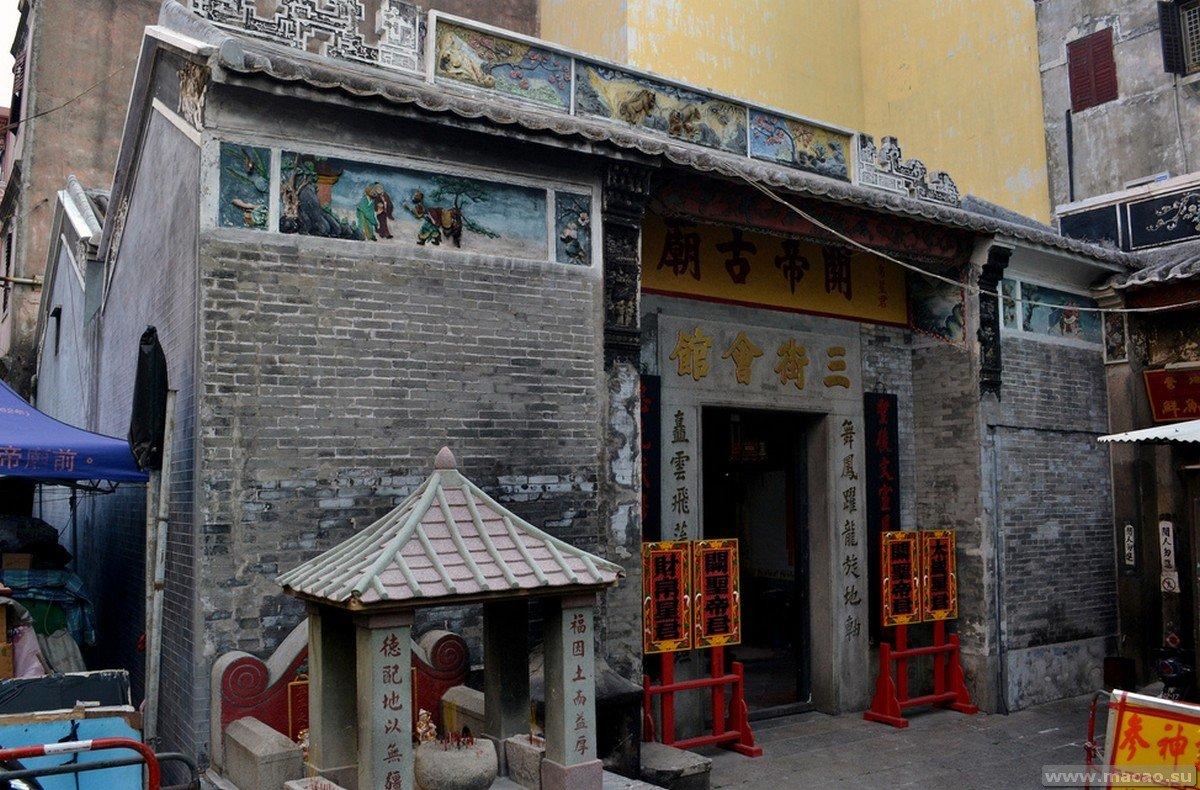 Храм Куан таи Макао