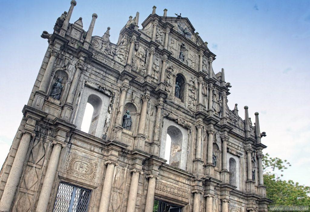 Фасад Собора Святого Петра в Макао