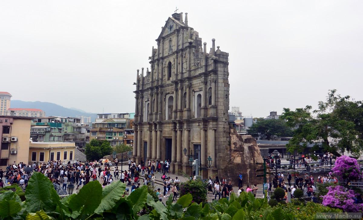 Руины Собора Святого Петра в Макао
