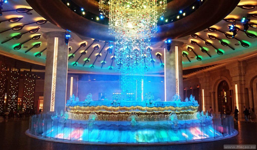 Шоу бриллиантов в Макао
