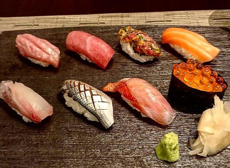Суши от Hide Yamamoto