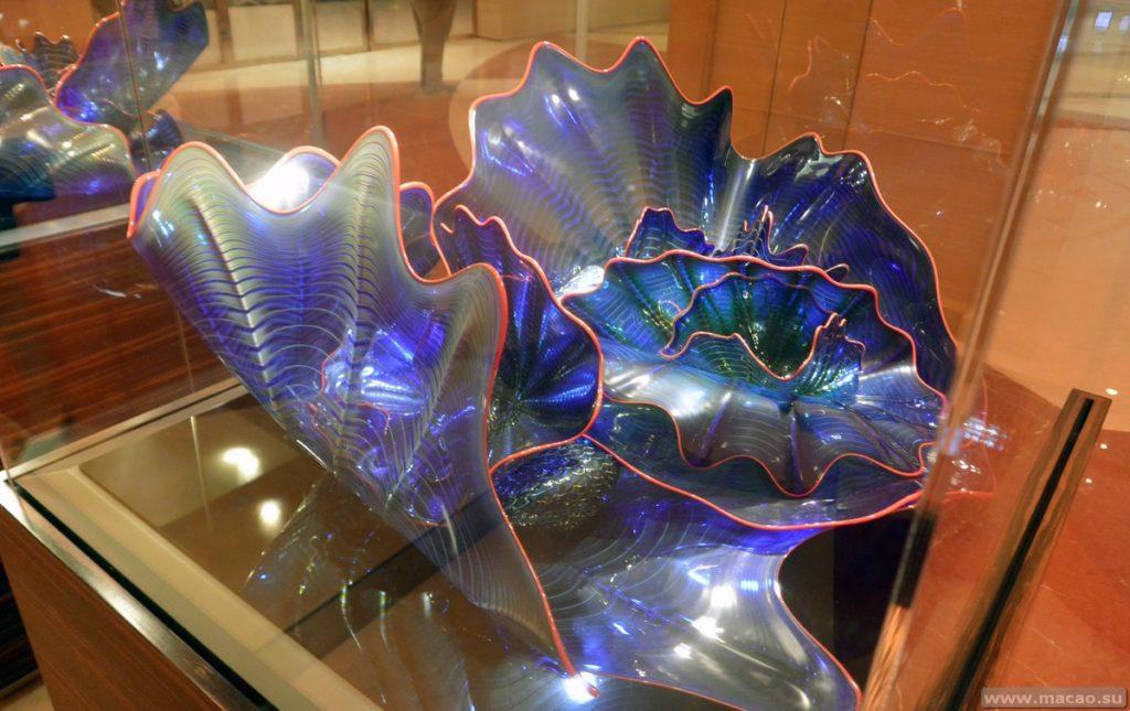Выставка изделий из стекла