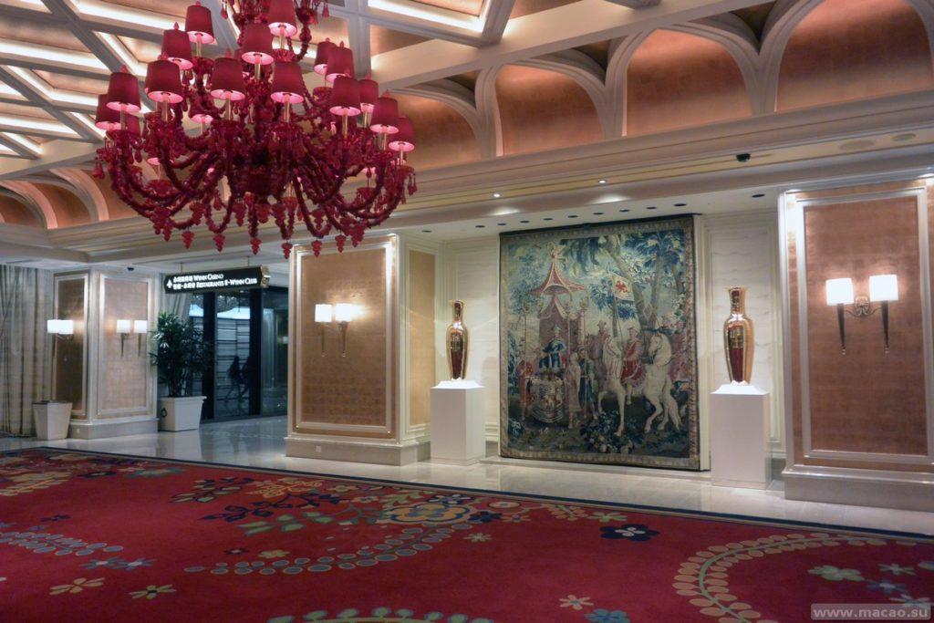 Холл отеля Wynn Macau